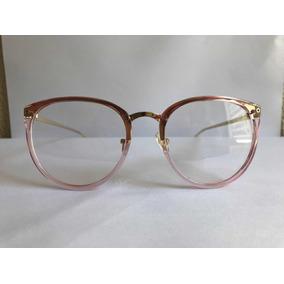 Armação Em Acetato Óculos P  Grau Transparente - Óculos no Mercado ... 6b7159b5af