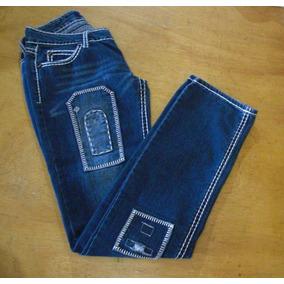 Pantalón Blue Jean Para Dama - Talla 7 8 673401e0173d
