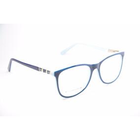 Armação Para Óculos De Grau Feminino Azul Escuro Jc7123 · R  79 99 301614ce1e