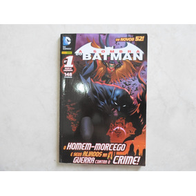 A Sombra Do Batman N° 1 Novos 52 Panini