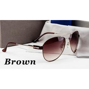 Óculos De Sol Unisex Di Or Polarizado 100% Uva E Uvb Marrom de421468aa