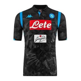 Hermoso Jersey Napoli De Italia Negro Away 2019 Napoles 7548ecc5ba5a0