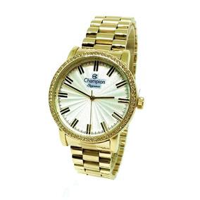 d12ccf7f550 Champion Dourado Com Numero Romanos - Relógios no Mercado Livre Brasil