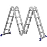 Escada Articulada Profissional 4x4 Multifuncional Bot