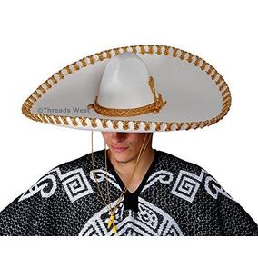 e64df64d52e0a Genuino Hecho En Mexico Sombrero Adulto Fantasia Mariachi So