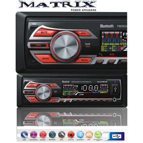 Stereo Matrix Usb Mp3 Bluetooth Manos Libres Radio