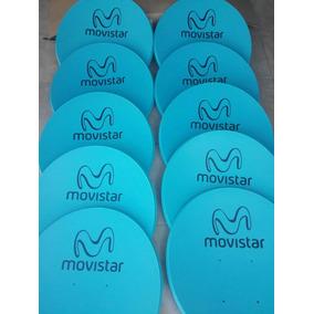 Plato De Antena Movistar De 60 Centimetros