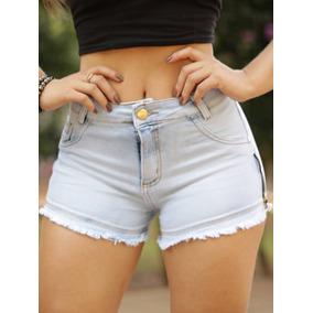 Short Jeans Feminino Hot Pants + Brinde Body