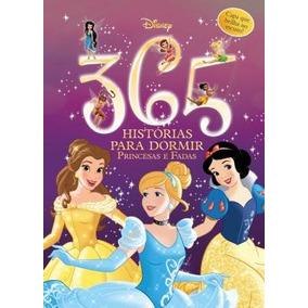 Livro 365 Histórias Para Dormir Disney - Princesas E Fadas -
