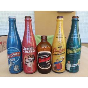 Botellas Quilmes Colección. .... (lote 5 Botellas)