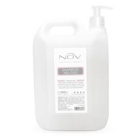 Shampoo Nov Neutro Bidon Con Bomba Dosificadora X 1900 Ml