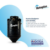 Biodigestor Autolimpiable 600 Lts. Rotoplas.