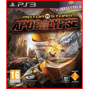 Motorstorm Apocalypse Ps3 Corrida Multiplayer Play 3 Psn