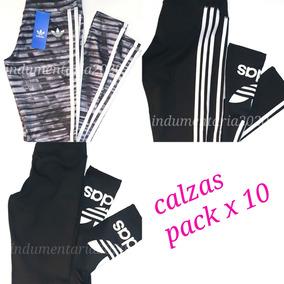 10 Unidades Verano Deportivas adidas Mayor X Calzas Pack qYR0wn