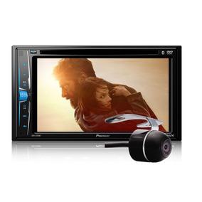 Dvd Player Pioneer Avh-a208bt Bluetooth 2din + Câmera De Ré