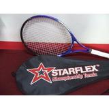 Raquete Tenis De Quadra Starflex - Esportes e Fitness no Mercado ... 0a3478324d859