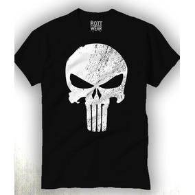 Punisher Marvel Playera Rott Wear Envío Gratis
