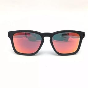 Oculos De Sol Latch Quadrado Polarizado Espelhado Promoção! 0b45d74d99
