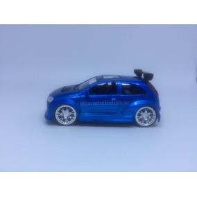 Miniatura Opel Corsa Azul - 1/32 - Saico - Jammelminiscar.