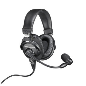 Headset Audio-technica Bphs1 + Mixer Q502 Usb Q-502