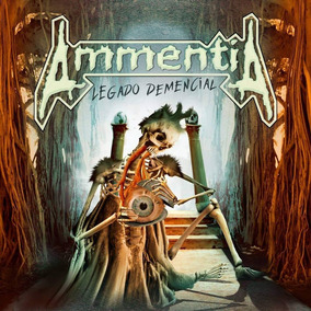 Cd Ammentia - Legado Demencial (thrash Metal Argentina)