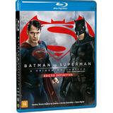 Box Blu-ray Duplo Batman Vs Superman Original E Lacrado!
