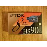 Cassette Tdk 8mm Hs90 Sin Uso Origen: Japon