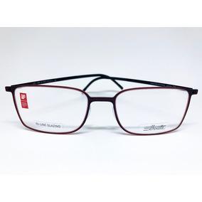 c8570bedf5e6f Armacao Silhouette De Graus Vermelho - Óculos no Mercado Livre Brasil