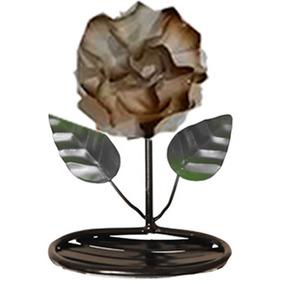 Saboneteira 20cm Em Ferro Com Flor Artesanal Envio Imediato