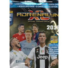 Kit Cards Fifa 365 Adrenalyn 2019 Álbum+ Porta Cards