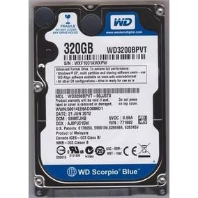 Hd Notebook 320gb Sata Western Digital