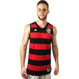 Camisa Regata De Basquete Flamengo adidas 2015 2016 Ai4775