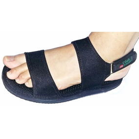 Sandália Magnética Palmilha Massageadora Circulação Terumi