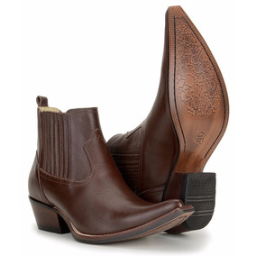 2cae6d0f4c30e Bota Agabe Masculina Bico Fino - Sapatos no Mercado Livre Brasil