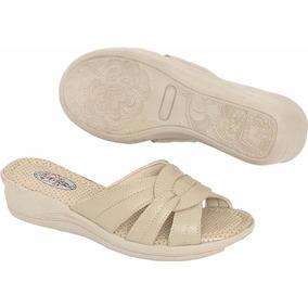 12c2bc648 Sandalias Femininas Salto Confort Flex Ou Usaflex - Sapatos no ...