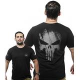 Camiseta Punisher Militar no Mercado Livre Brasil ff1319e2000e7