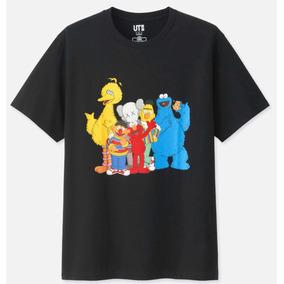 Playera Sesame Street X Kaws Extrachica
