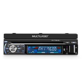 Dvd Player Automotivo Multilaser Extreme+ Retrátil Gps, Tv T