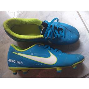Chuteira Mercurial Campo Azul Tams Adultos Nike - Chuteiras no ... b188a12d5e35a