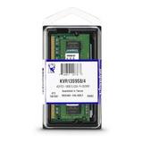 Memória RAM 4 GB 1x4GB Kingston KVR13S9S8/4