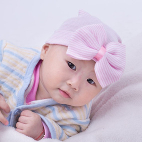 Touca De Bichinhos Para Recem Nascido - Roupas de Bebê no Mercado ... 8e2a22ff31b