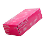 Luva Procedimento Nitrílica Rosa Pink Sem Pó C/100 Pp/p/m/g