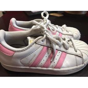 new product aeedf fe930 Zapatillas Superstar De Nena adidas Originales Talle 31 32