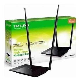 Roteador Wireless Quebra Parede Tl Wr 841hp 1000mw Ant 8dbi