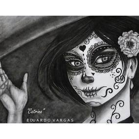 Cuadro De Catrina En Acrilico En Mercado Libre México