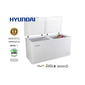 Congelador Refrigerador Hyundai 512 Ws Litros