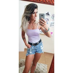 Body Primavera Verão 2018 2019 Feminino Blusinha