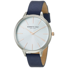 Reloj Kenneth Cole Dama Fashion Azul Kc15056003
