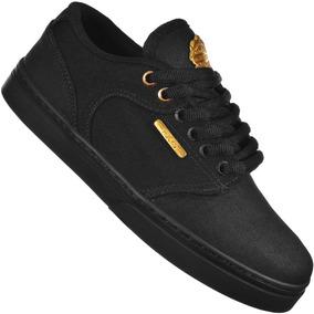 Tênis Hocks Montreal Black/gold 4105 Original