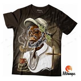 Camiseta Full Preto Velho 2 Cod 063 Mrm- Umbanda/candomblé